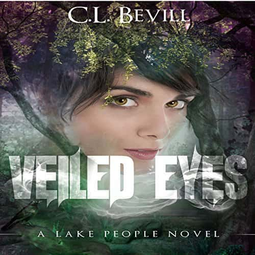 Audiobook cover for Veiled Eyes by C.L. Bevill