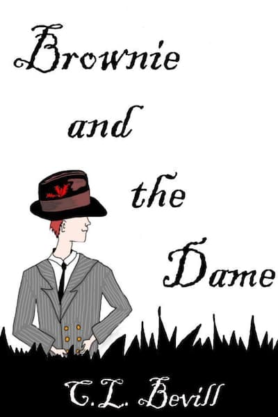 Book cover for Brownie and the Dame by C.L. Bevill