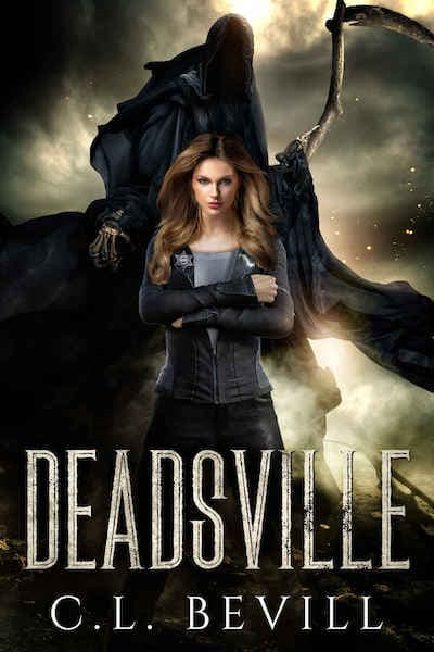Book cover for Deadsville by C.L. Bevill