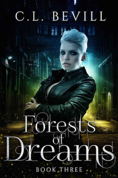 Book cover for Forests of Dreams by C.L. Bevill