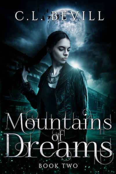 Book cover for Mountain of Dreams by C.L. Bevill