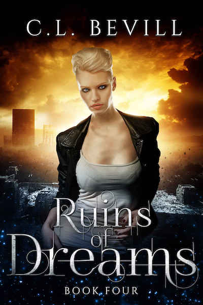 Book cover for Ruins of Dreams by C.L. Bevill