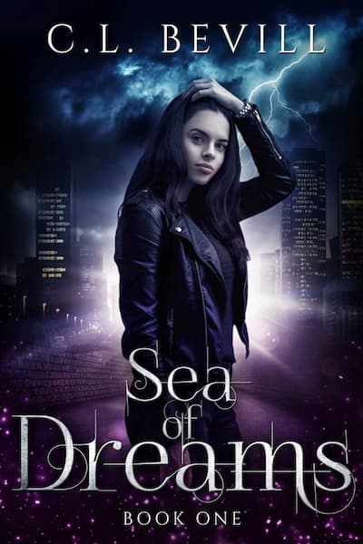 Book cover for Sea of Dreams by C.L. Bevill