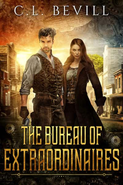 Book cover for The Bureau of Extraordinaires by C.L. Bevill