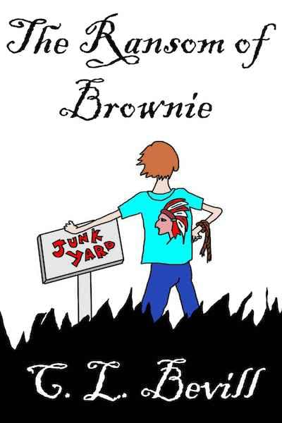 Book cover for The Ransom of Brownie by C.L. Bevill