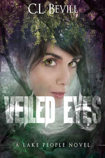 Book cover for Veiled Eyes by C.L. Bevill